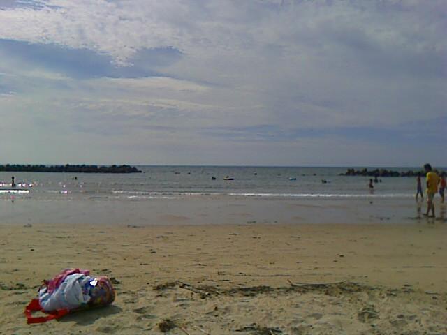 Ashiya. La playa más cercana.