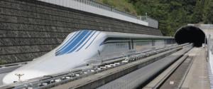 El nuevo shinkansen que están probando en Japón.